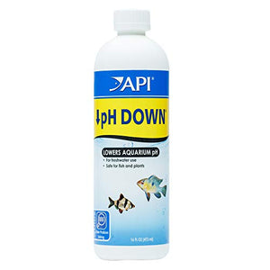 Api Ph Down Freshwater Aquarium Water Ph Reducing Solution 16-Oz Bottle