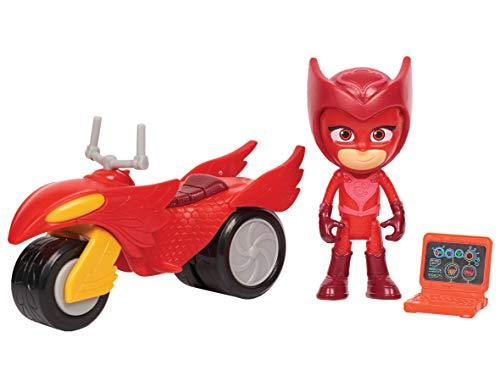 PJ Masks Super Moon Rovers Owlette Toy, Red