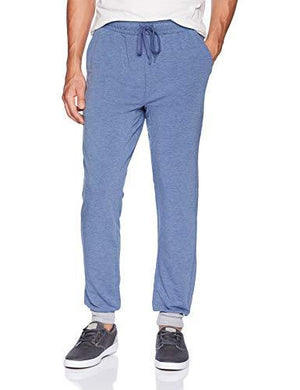 2(X)Ist Men'S Jogger Sweatpant Pants, Denim Heather, Large
