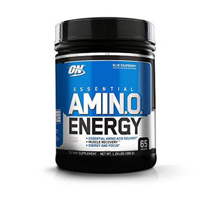 Optimum Nutrition Essential Amino Energy With Green Tea & Coffee Extract- Blue Raspberry 65 Servings