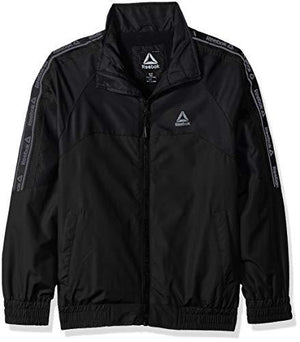 Reebok Boys' Big Active Midweight Jacket Black 10/12