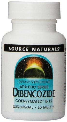 Source Naturals Dibencozide, Primary Coenzyme Form Of Vitamin B-12,30 Tablets