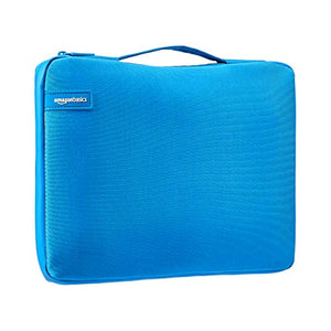 "AmazonBasics 13.3"" Professional Laptop Case Sleeve Bag (With Retractable Handle) - Blue"