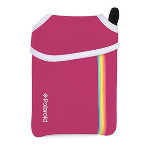 Polaroid Neoprene Pouch For The Polaroid Snap & Snap Touch Instant Camera (Pink)