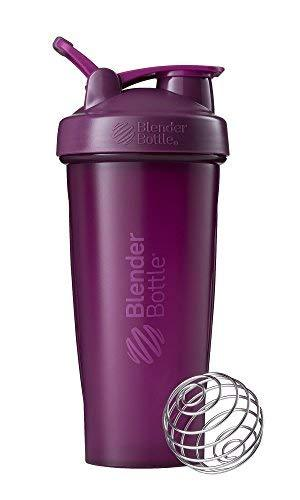 Blenderbottle Classic Loop Top Shaker Bottle, Plum/Plum, 28-Ounce Loop Top