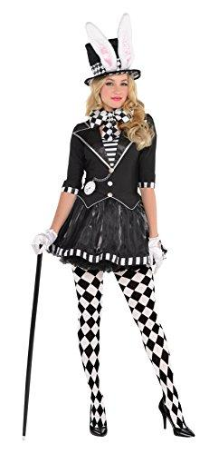 Amscan Adult Dark Mad Hatter Costume - Large (10-12)