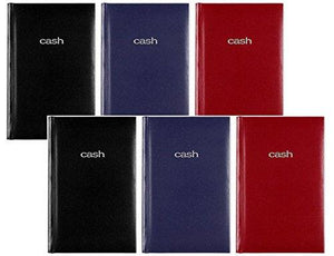 "Mead Cash Book, 5"" X 7 15/16 Inches, Hardbound, 144 Pages, Assorted Colors, 6 Pack"