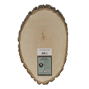 Walnut Hollow Basswood Country Round, Large For Woodburning, Home Decor And Rustic Weddings