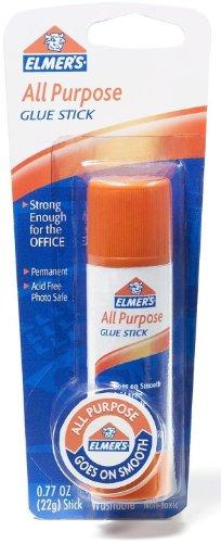 Elmer'S All Purpose Glue Stick, Large, 0.77 Oz / 22 G (Pack Of 6)