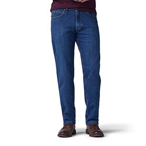 LEE Men's Big and Tall Big & Tall Regular Fit Straight Leg Jean, Patriot, 48W x 30L