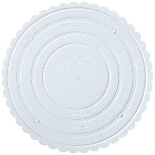 Wilton 302-11 Decorator Preferred Round Separator Plate For Cakes, 11-Inch
