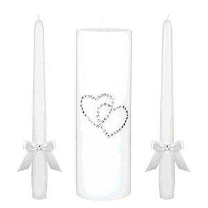Amscan 170268 Unity Candles, Multi Sizes, Multicolor