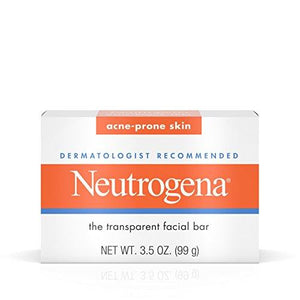 Neutrogena Acne-Prone Facial Bar, 3.5 Ounce Box (103Ml) (Pack Of 2)