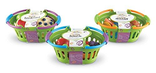 Learning Resources New Sprouts Healthy Foods Basket Bundle, 37 Pieces