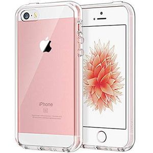 Jetech Apple Iphone Se 5S 5 Shock-Absorption Bumper Cover - Crystal Clear