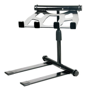 Pyle Portable Folding Laptop Stand - Standing Table With Adjustable Angle