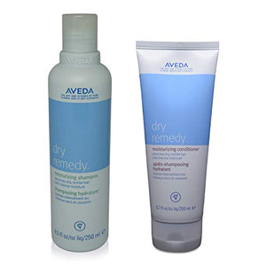 Aveda Dry Remedy Moisturizing Shampoo 8.5 oz & Conditioner 6.7oz Duo SET