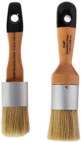 Folkart Home Decor Chalk And Wax Brushes, 34909