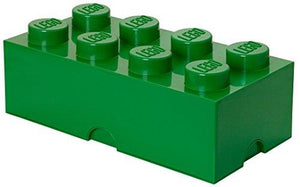 Lego Storage Brick 8 Dark Green