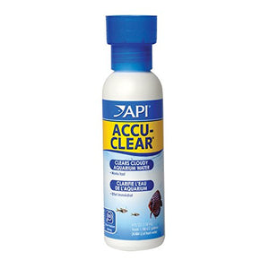 Api Accu-Clear Freshwater Aquarium Water Clarifier 4 Oz Bottle