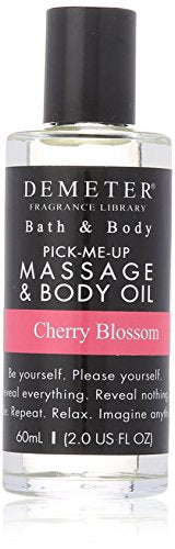 Demeter Massage and Body Oil for Unisex, Cherry Blossom, 2 Ounce