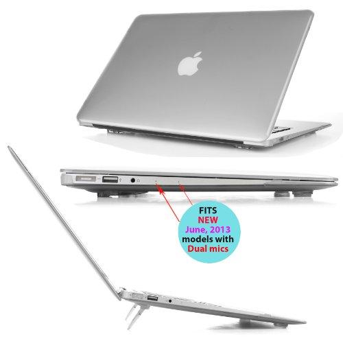 Ipearl Mcover Hard Shell Cover Case With Free Keyboard Cover For 13.3-Inch Apple Macbook Air - Clear