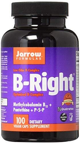 Jarrow Formulas - B-Right/B-Complex, 100 Vegicapsules