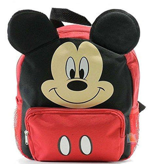 "Disney Mickey 12"" Face Medium Backpack"