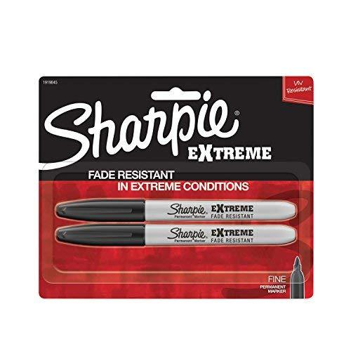 Sharpie Extreme Permanent Markers, 2-Pack, Black (1919845)