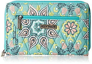 Bella Taylor Women'S Luna Signature Zip Wallet, Kendall, One Size