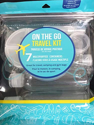 Good Living 7 Piece On-The-Go Travel Kit, TSA Approved - 1 Package