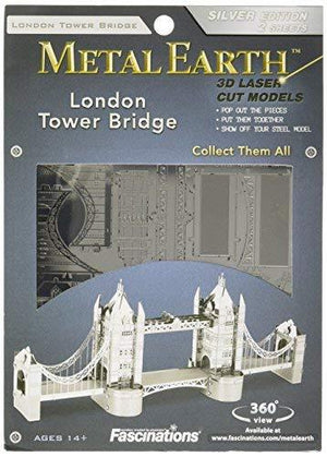 Fascinations Metal Earth London Tower Bridge 3D Metal Model Kit