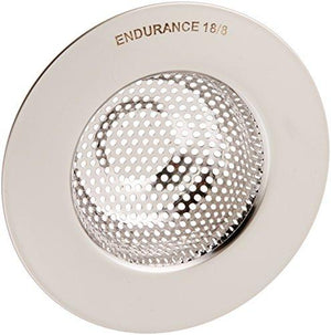 Rsvp Endurance Stainless Steel Sink Strainer, Large