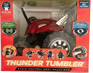 Generic Thunder Tumbler Radio Control 360 Degree Rally Car Red