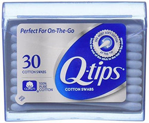 Q-Tips Swabs Purse Pack 30