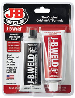 J-B Weld 8281 Professional Size Steel Reinforced Epoxy Twin Pack-10 Oz 10. Fluid_Oz