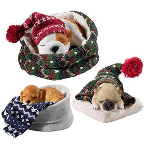 Design Toscano Sleepy Time Puppy Dog Collection