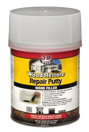J-B Weld 40004 Wood Restore Repair Putty - 757Ml
