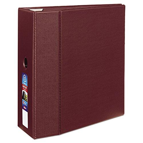 Avery Heavy-Duty Binder With 5-Inch One Touch Ezd Ring, Maroon (79366)