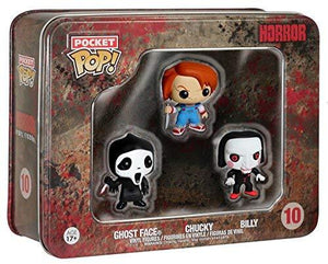 Funko Horror - Ghost Face, Chucky, Billy