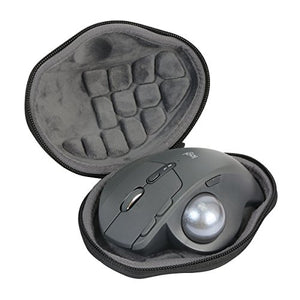 Hard Travel Case for Logitech MX Ergo Advanced Wireless Trackball Mouse by co2CREA (Case for Mouse)