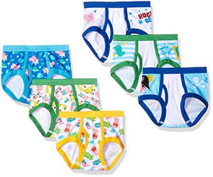 Peppa Pig 7-Pack Peppa Toddler Boy Brief, Multi, 4T