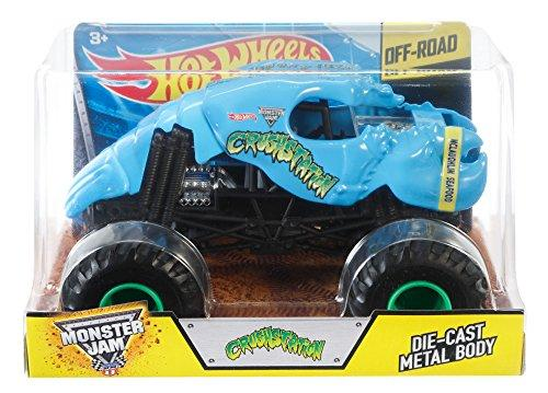 Hot Wheels Monster Jam Crushstation Die-Cast Vehicle 1:24 Scale, Blue