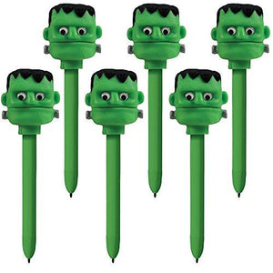 Educational Insights Halloween Puppet-On-A-Pen Frankenstein, Set Of 6
