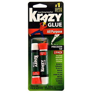 Krazy Glue Kg517 Purpose Super Glue Precision Tip 2 Grams 2 Count 1