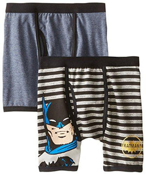 DC Comics Boys 'Batman Superhero Justice League' Boxer Brief Underwear Pack, Multi, 8