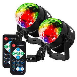 Litake Party Lights Disco Ball Strobe Disco Lights with Remote Control
