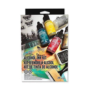 Ranger Docrafts Rgrtdk.48213 Tholtz Distress Alcohol Ink Kit 29 Piece