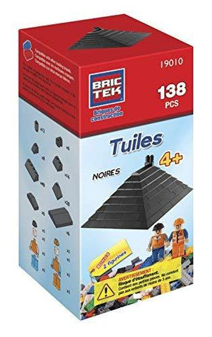 Brictek Roof Tiles- Black- 138 Pcs