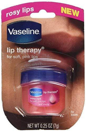 Vaseline Lip Therapy Rosy Lips Pack Of 2 0.25 Oz. / 7 Grams